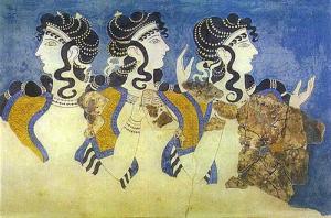 Οι Γαλάζιες Κυρίες της Κνωσσού