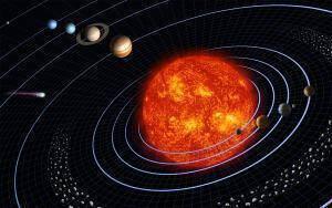 Γραφημα με ηλιακό σύστημα