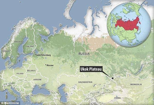 Τα λείψανα ανακαλύφθηκαν σχεδόν πριν από 20 χρόνια στο Οροπέδιο Ukok στη Ρωσία