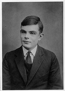 Ο Τούρινγκ σε ηλικία 16 ετών