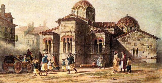 Η ιστορική εκκλησία της Καπνικαρέας