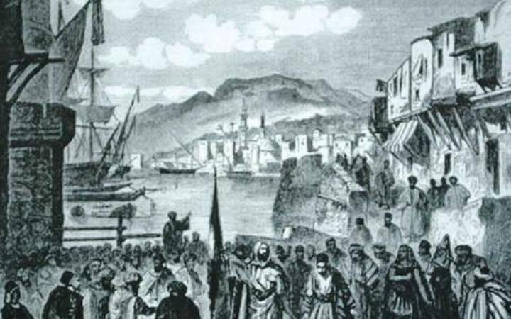 Χριστιανοί πρόσφυγες από την περιοχή του Λιβάνου διασκορπίζονται στη Συρία, την Ελλάδα και αλλού κατά τις συγκρούσεις του 1860.