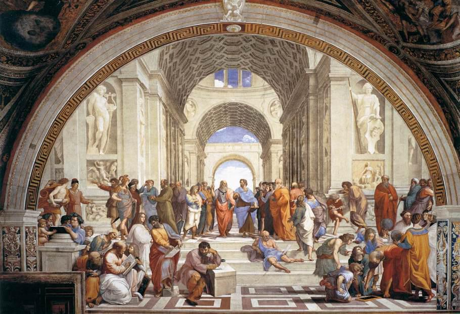 H Σχολή των Αθηνών του Ραφαήλ (1509)