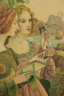 Armand POINT Légende Dorée 1899