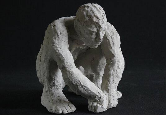 Marion Inglessi_Homo Faber Lotus-eater Stoneware 19 x16 x18α